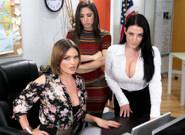 Phone Service Skills - Abella Danger & Angela White & Krissy Lynn 1