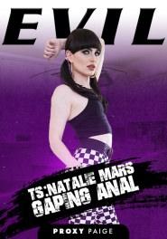 TS Natalie Mars: Gaping Anal Dvd Cover