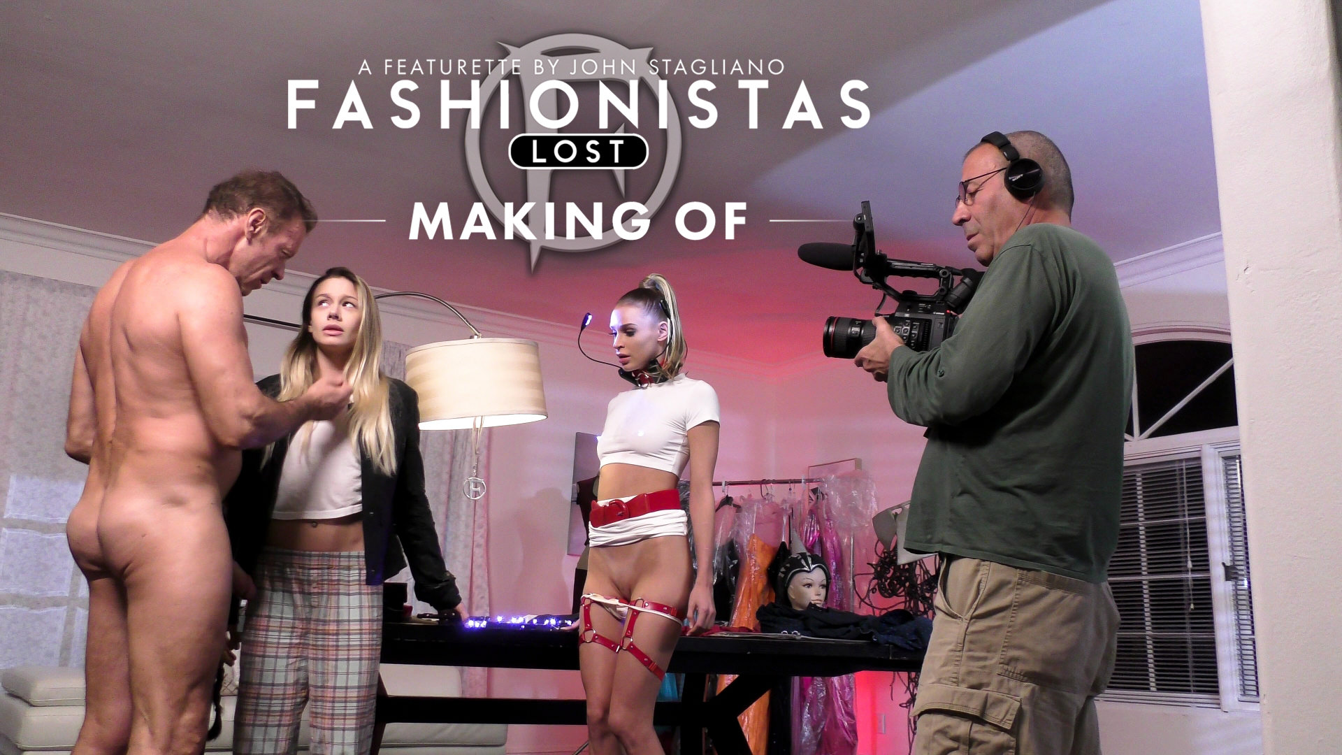 BTS-Fashionista - Lost - Rocco Siffredi & Aiden Starr & John Stagliano & Emma Hix & Naomi Swann & Adira Allure 1