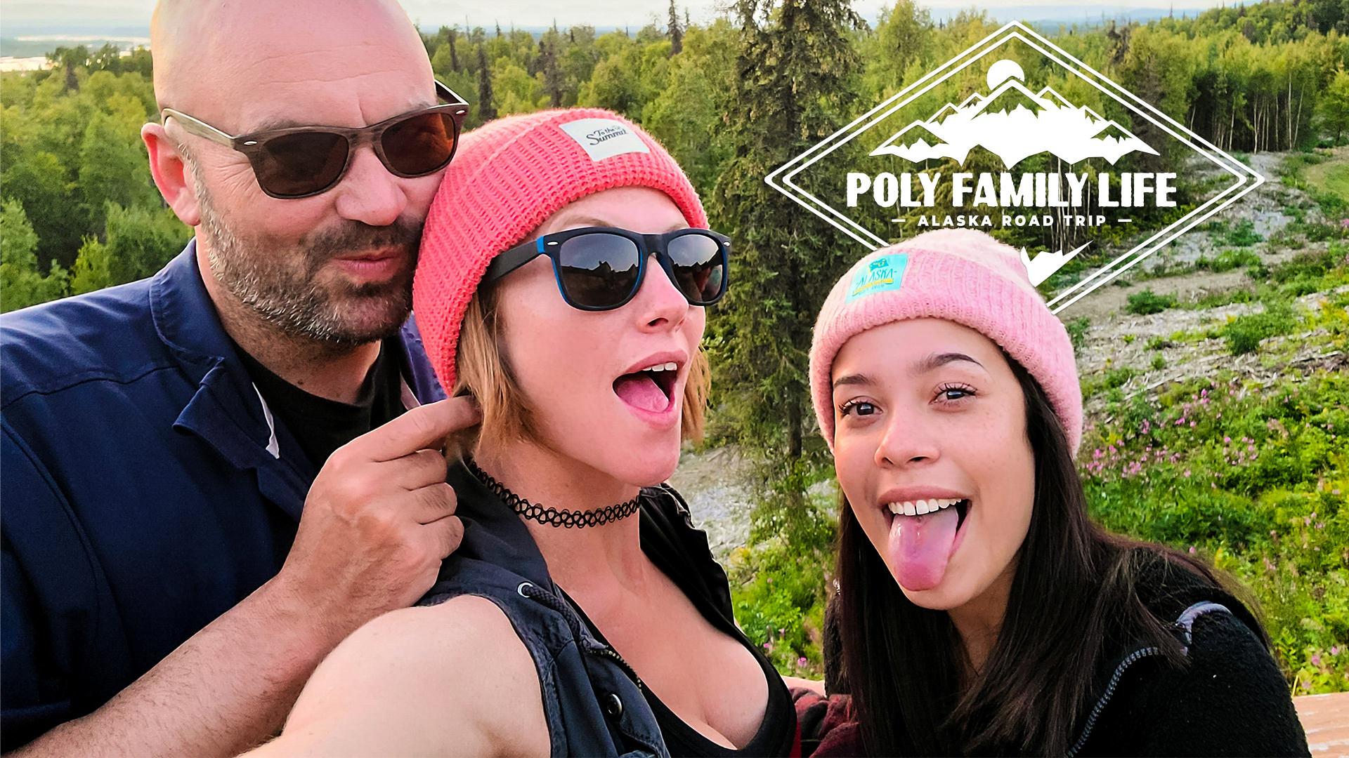 Poly Family Life: Alaska Road Trip - Episode 1 - Lana Mars & AK Gingersnaps & Smassh 1